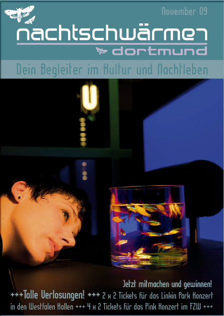 Cover Nachtschwärmer / Nightlife-Flyer for Dortmund, Germany