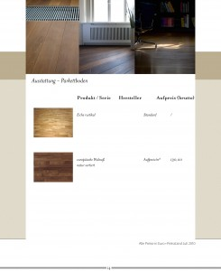 Haus Rosenthal, Berlin / brochure interior, Germany