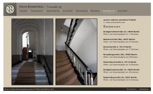 Haus Rosenthal, Berlin / internet presentation, Germany