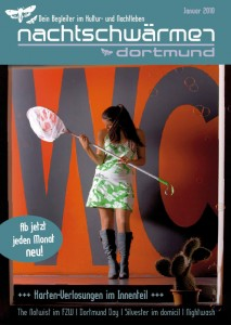 Cover Nachtschwärmer / Nightlife-Flyer for Dortmund, Germany