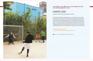 International Musicfestival Klangvokal 2009 / image concept, program, flyer and poster